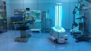 Disinfecting UVD Robots