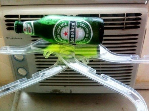 Cold Brew on A Budget: Cooling Beer with Household Air Conditioning