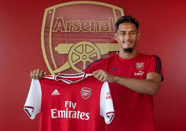 Saliba being unveiled