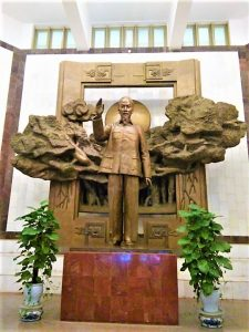 The Ho Chi Minh's Statue