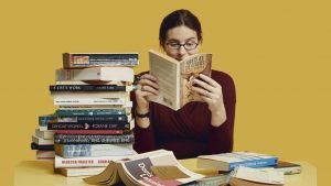 read a lot of books to learn english faster