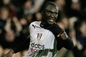 Diop in Fulham colours